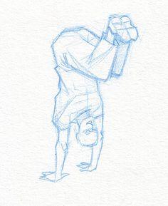 Croquis : WIP - Capoeira logo [ #sketche #capoeira #logo ] - 3