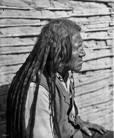 Quechan man - circa 1900