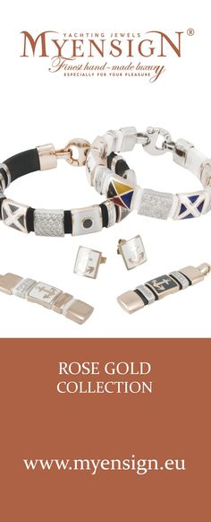 MyEnsign Rose Gold Collection  www.myensign.eu