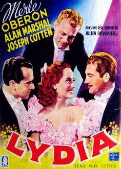 Lydia (1941) Merle Oberon, Joseph Cotten