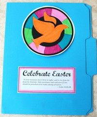 Download a Free Easter lapbook for kids. Comes with instructions for lapbook, a printable booklet and a scripture egg game