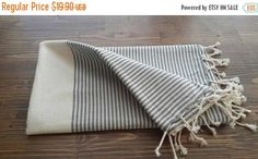 Check out this item in my Etsy shop https://www.etsy.com/listing/474252234/black-friday-gray-stripe-cotton-towel