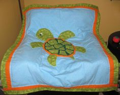 baby quilts turtles | Crafters in the Sky: Turtle Theme Baby Quilt
