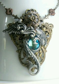 I am in love with this necklace. If you're looking to purchase a gift for me...well...hint hint. :P