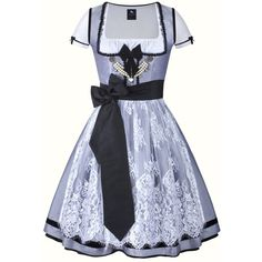 Dirndl Colette #233 ($835) ❤ liked on Polyvore featuring costumes, dresses, costume and dirndl costume