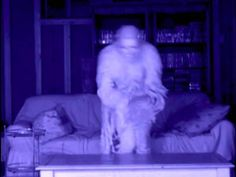 Fearful ghost footage .