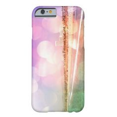 Santa Monica Beach - Sparkling Pink Photo Edit Barely There iPhone 6 Case