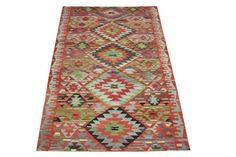 94 x 52 Feet Turkish Kilim Rug Desinger Kilim Rug by ANATOLIANRUGS