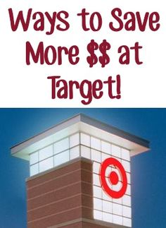 8 Ways to Save More $$ at Target! ~ from TheFrugalGirls.com