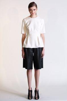 New York Fashion Week: Rebecca Vallance. Fall 2014