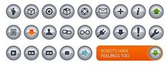 chrome crystal texture of small icon button vector
