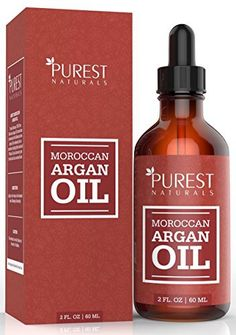 Product review for Purest Naturals Moroccan Argan Oil - 100% Pure - Dry Skin Beauty Care for Hair, Face & Nails - The Anti Aging, Anti Wrinkle Beauty Secret - Grade Triple A Extra Virgin Cold Pressed  - Total Body Indulgence Treat yourself with this natural Moroccan Argan oil and indulge into a daily, head to toe, moisturizing experience.  Our natural, chemical free Argan oil provides excellent hydration for the face, body, hair and nails and promises amazing results. Extre