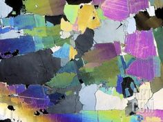 Muscovite, Thin Section Photographic Print by Dirk Wiersma at Art.com