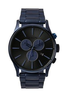 The Sentry Chrono - Deep Blue | Nixon