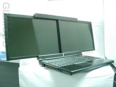 Dual Screen Laptops are coming to a LAP near you soon....  Ready or Not....Here they come