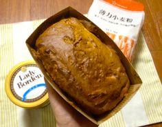 【レシピあり】アイスクリームと粉を混ぜて焼くとパンができるぞ! 「たった3つの材料で作るパン」がスコーンみたいでオシャレウマい!! | ロケットニュース24