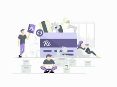 My new project on @Behance: «Illustrations for Systems using Blockchain» www.behance.net/... #vector #illustration #adobeillustrator #digitalart #flatdesign #art #character #graphic #graphicdesign #blockchain #branding #room #people #laptop #cards #bitcoin #designer #design #work #shopping