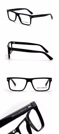 Fashion Eyewear Clear Glasses 179240: $490 Dolce Gabbana Mens Black ...