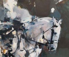 Pascale Chandler: Equestrian Dawn | StateoftheART Equestrian, Dawn, Original Artwork, Canvas, Gallery, Painting, Tela, Roof Rack, Horseback Riding