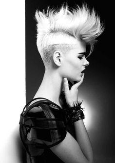 www.esteticamagazine.com | Hair & Styling: Jordan Hone Photo: David Mannah Styling: Lydia-Jane Saunders Makeup: Casey Gore
