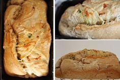 no soup for you: Artisan Bread - Pão de Alho, Ervas e Queijo