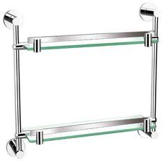 Double Glass Shelf 8702