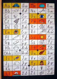 1. třída - písmenka vybarvuji postupně, podle toho, jaká už umíme.