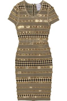 Get your new fabulous Herve Leger dress at Elizabeth Anthony Esther Wolf in Uptown Park!