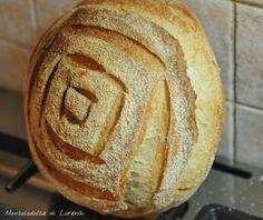 Pane con farine semi integrali