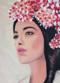 JOSEPHINE / 120 x 90 cm / acrylic on canvas / 2015 by Lilja Bloom