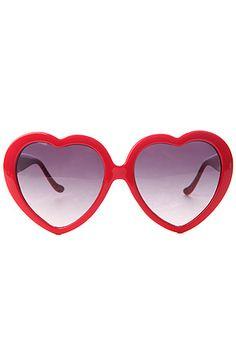 f0b866eabac The Heart Sunglasses in Scarlet by Vans Vans Sunglasses