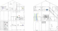 House with empty lot - жилой дом от ON design partners