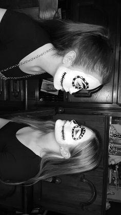 #carnaval #NL #skelet #scarymakeup
