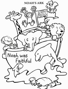noah's ark craft this folded paper envelope with ark animals ... - Noahs Ark Coloring Pages Print