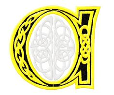 #embroidery #embronetto  Embroidery Alphabet Patterns 04: Celtic