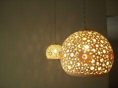 Porcelain ceiling lights