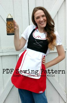 JULIET Swiss maiden Gnomeo inspired by QueenElizabethAprons Halloween Costumes For Teens, Adult Costumes, Halloween 2020, Costume Halloween, Disney Inspired Dresses, Dress Up Aprons, Gnome Costume, Aprons For Sale, Costume Contest
