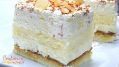 Polish Food, Polish Recipes, Gluten Free Recipes, Vegetarian Recipes, Vanilla Cake, Cheesecake, Paleo, Cookies, Baking