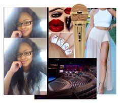 """""""Show 2 : VEGAS !"""" by yahtayviastubbs ❤ liked on Polyvore"""