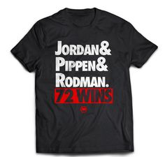 714c0b38947 Loyal to a Tee x Chicago Bulls '72 Wins' Tee Scottie Pippen, Chicago