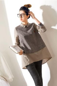 Sewing Clothes Ideas Life 31 New Ideas Hijab Fashion, Diy Fashion, Fashion Dresses, Fashion Design, Kurta Designs, Blouse Designs, Sewing Clothes, Diy Clothes, Shirt Refashion