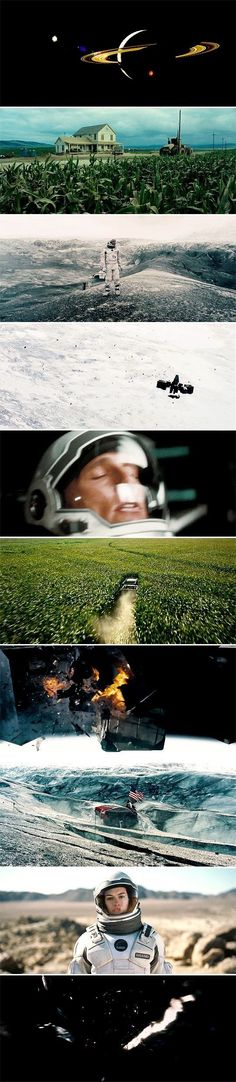 Interstellar - Cinematography by Hoyte van Hoytema Directed by Christopher Nolan Christopher Nolan, Science Fiction, Funny Disney, Great Films, Good Movies, Groundhog Day, Storyboard, Best Cinematography, Movie Shots