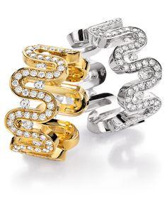 POMPEJI - Ring mit beweglichen Diamanten