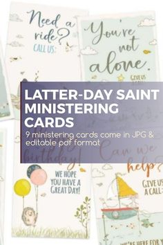 Complete with LDS slogans, these Ministering Cards are the perfect gift for any Primary-aged or Relief Society member. With messages that can reach people in both their personal and spiritual lives, this card is sure to get them through a tough day. #LDSMinistering #LatterDaySaint #LatterDaySaintPrintables #MinisteringCards #MinisteringPrintables Relief Society Lessons, Relief Society Activities, Latter Days, Latter Day Saints, Lds Seminary, Lds Blogs, Get To Know You Activities, Lds Scriptures, Fhe Lessons