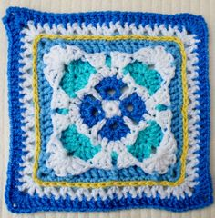 """Maryfairys 6-7"""" Gothic Square - Week 29 BAWL CAL ~ Free Pattern"""
