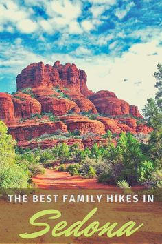 Heading to Sedona with kids? We have compiled a list of the best family friendly hiking trails in Sedona as well as what to do with kids. Family Vacation Destinations, Travel Destinations, Vacation Places In Usa, Best Places To Travel, Travel With Kids, Travel Usa, Family Travel, Visit Sedona, United States Travel