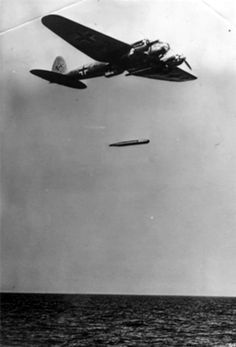 He-111H-6 Launches LTF5b torpedo over the Norwigian coast