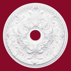 Rawling+Ceiling+Medallion+-+White