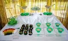 St Patrick's Day Party Table - #stpattys #party #kidsparty