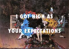 Last night, the model got high The model and the mannequin (1873), Giovanni Boldini / Too Good, Drake ft. Rihanna